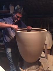 Vasos de Janu Capuano.....minha encomenda .... (cris couto 73) Tags: ceramica ceramic handmade pot clay pottery vaso argila torno