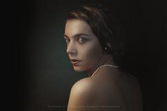 Jane (Matthijs Smilde) Tags: portrait matthijs film photography model grain grace pearls human neckless smilde alwaysexcellent