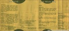 Tercer Cassete grabado en su lado B por el Conjunto Folklórico Maucó de la Refinería de Petróleo Concón S.A. en 1991