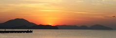Sunrise in Kktbel (thepaparazzo) Tags: sea sunrise ukraine canoneos20d crimea blacksea sunup 2012    theukraine  seasunrise   koktobel   cimeria kktbel thepaparazzo victormushkarin mushkarin 172012