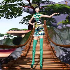 Zibska - Harumi (Rehana MiSS SLVietnam, Face of CHOP ZUEY 2015) Tags: fashion truth event secondlife rehana newrelease posesion nailedit baiastice zibska reogskin