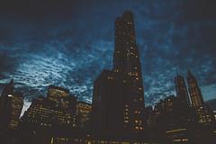 Gotham (Hreilly) Tags: new york city nyc bridge brooklyn night scary manhattan williamsburg gotham