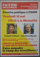 Contre la bourgeoisie et ses serviteurs (emmanuelsaussieraffiches) Tags: poster political politique affiche lutteouvrire