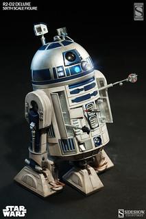 超再現!SIDESHOW 1/6比例超豪華版R2-D2推薦!