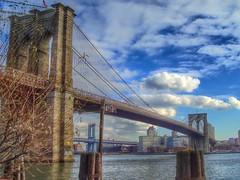 Brooklyn Bridge (Cycling Man) Tags: bridge newyork water brooklyn landscape cityscape
