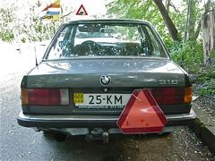 80s BMW E30-Series 316 25-KM Car (ClassicsOnTheStreet) Tags: amsterdam 80s bmw mk2 streetphoto spotted 1980s streetview straatbeeld strassenszene noord 3series 2014 316 youngtimer amsterdamnoord 25km gespot vliegenbos straatfoto carspot e30series 25kmcar