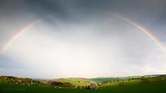 "Annaberger Land hat den Bogen überspannt / Rainbow Spans the Land • <a style=""font-size:0.8em;"" href=""http://www.flickr.com/photos/91814557@N03/16430983395/"" target=""_blank"">View on Flickr</a>"