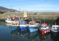 Annalong, Co Down, Northern Ireland (east med wanderer) Tags: boats coast harbour northernireland fishingboats countydown annalong worldtrekker