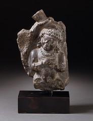 Vishnu's Personified Wheel LACMA M.89.84 (Fæ) Tags: california usa losangeles wikimediacommons imagesfromlacmauploadedbyfæ ayudhapurusha sculpturesfromindiainthelosangelescountymuseumofart