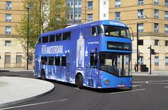 LU LT145 - LTZ1145 - ST GEORGE'S CIRCUS - THUR 5TH MAY 2016 (Bexleybus) Tags: new bus london amsterdam st all circus united over route advert boris vodka routemaster hybrid georges tfl 148 nbfl lt145 borismaster ltz1145