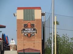 Championship Tower at Scottsdale Stadium -- Scottsdale, AZ, March 08, 2016 (baseballoogie) Tags: arizona baseball stadium az giants scottsdale ballpark springtraining sanfranciscogiants cactusleague baseballpark scottsdalestadium 030816 canonpowershotsx30is baseball16