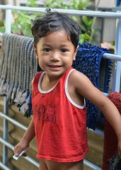 handsome boy (the foreign photographer - ) Tags: boy red portraits thailand nikon tank top bangkok handsome lard bang bua khlong bangkhen d3200 phrao
