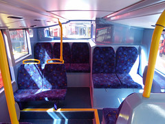 GAL MHV17 - BU16OZE - INTERIOR - BV BUS GARAGE - THUR 28TH APR 2016 D (Bexleybus) Tags: bus london ahead volvo interior garage go egyptian belvedere bv bodywork mcv goahead evoseti mhv17 bu16oze