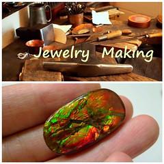 COMING SOON (The Ammolite) Tags: fossil handmade jewelry jewellery minerals mineral ammonite gemstone ammolite