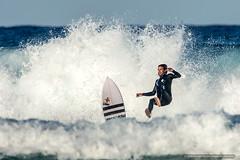 Lost it 2 - surfer at Tallow Beach (sbyrnedotcom) Tags: ocean sea beach waves action australia surfing nsw surfers byronbay tallowbeach