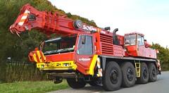 Faun RTF 504 (Vehicle Tim) Tags: kran faun fahrzeug autokran kranwagen schwerlast