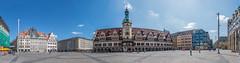 Leipzig Panorama (Christian Hoemke) Tags: panorama germany de deutschland saxony leipzig sachsen rathaus marktplatz marketsquare leibzig canoneos70d lightroom5 tamrondiii16300mm13563