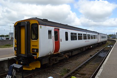 Abellio Greater Anglia Super Sprinter 156422 (Will Swain) Tags: great yarmouth station 14th may 2016 train trains rail railway railways transport travel uk britain vehicle vehicles england english class 156 sprinter norwich abellio greater anglia 156422 aga super