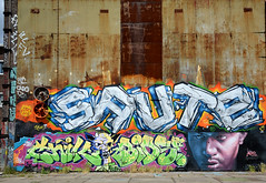 graffiti amsterdam (wojofoto) Tags: amsterdam graffiti ndsm wolfgangjosten wojofoto