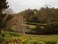 2016_05_0104 (petermit2) Tags: tower abbey pond nt yorkshire fountains fountainsabbey nationaltrust northyorkshire studleyroyal englishheritage studleypark octagontower halfmoonpond riponstudleyroyalpark