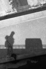 Monochrome portrait (Andrew.King) Tags: selfportrait monochrome stone contrast concrete shadows reservoir pitsford sulight