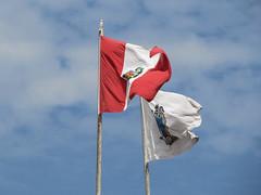 "Trujillo: le drapeau péruvien <a style=""margin-left:10px; font-size:0.8em;"" href=""http://www.flickr.com/photos/127723101@N04/27195315504/"" target=""_blank"">@flickr</a>"
