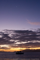 Sunset in the Virgin Islands (3scapePhotos) Tags: travel sunset sea vacation vertical sailboat island islands boat sailing venus virgin tropical british caribbean tropics bvi britishvirginislands cooperisland