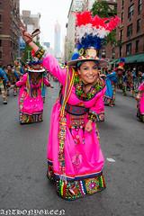 DanceParade2016-5(NYC) (bigbuddy1988) Tags: nyc pink portrait people urban woman usa ny newyork art beautiful beauty smile festival photography nikon pretty colours manhattan flash parade spanish strobe d610 nikonsb400 nikond610