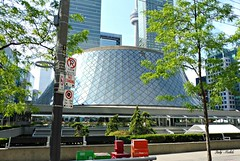 Freedom is instantaneous the moment we accept things as they are. - Karen Maezen Miller (Trinimusic2008 - stay blessed) Tags: city urban toronto ontario canada architecture buildings to today concerthall kingst roythomsonhall trinimusic2008 judymeikle the6ix thenewmasseyhall