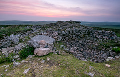 Chapel Carn Brae II (Tractorboy1981) Tags: uk sunset england southwest landscape rocks cornwall hill ngc wideangle chapel national trust brae kernow carn d7100 bureal
