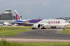 A7-BAE_MAN_270516_IMG_4324-a (Tony.Woof) Tags: man manchester boeing airways qatar egcc 777300 a7bae
