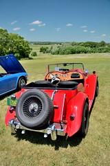 Road_Apples_105_DSC_2801 (Nomad Joe) Tags: summer usa cars mg madison classics wi carshow 1953 vfw td saturdayinthepark roadapples