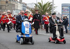 181/366  Veterans Weekend, Weymouth - 366 Project 2 - 2016 (dorsetpeach) Tags: scooter parade dorset 365 veteran weymouth 2016 366 veteransparade aphotoadayforayear 366project second365project