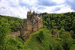 Burg Eltz, ( 2 of 3), Germany (louelke - home again) Tags: castle germany burgeltz towers schloss fortress burg