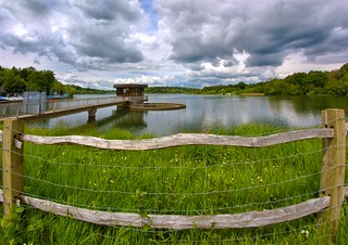 Ardingly reservoir fisheye