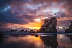 oregon-05-19-16-174 (Ken Folwell) Tags: ocean sunset sea water oregon rocks seastacks canon5dii