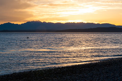Lincoln Park - Sunset (Valeriy T) Tags: seattle park sunset water washington lincoln