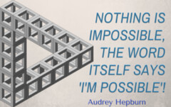Impossible Is Not What It Seems  Its Just A Word (lieforly14319) Tags: blogger aruna kumar