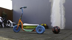 Iceland William Eggleston (khybinette) Tags: summer cold color colour bike fun toy iceland kid lol reykjavik cycle williameggleston