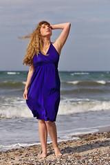 Baltic Amber (heikole42) Tags: blue portrait woman beach girl beautiful beauty fashion female strand canon germany deutschland eos model glamour pretty dress natural emotion outdoor feminine gorgeous portrt balticsea blau frau tyskland ostsee modell mdchen schnheit feminin tjej 2016 kleid portrtt snygg weiblich schn natrlich nienhagen hbsch sknhet balticamber kvinna kvinnlig 5dmarkii heikole