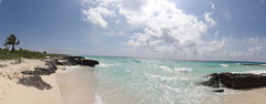 Beach Panorama (LauriusLM) Tags: voyage travel sea panorama mer beach mexico outside photography vacances photo yahoo holidays flickr photographie view turquoise yucatan sable playadelcarmen wave playa bleu pointofview wikipedia mexique lonely lonelyplanet monde rivieramaya vague vagues extrieur plage palmier nationalgeographic quintanaroo gettyimage playacar travelphotography googleimage go photoflickr photosflickr photosyahoo imagesgoogle sonycybershotdschx9v potd:country=fr photogo photogoogleearth