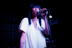 adia victoria (Michael_Booth) Tags: leica portrait music color female concert nashville badass livemusic singer braids concertphotography songwriter altcountry thecasbah thecasbahsandiego adiavictoria leicastyp007 elmarits45mmf28asphcs gothiccountrymusic