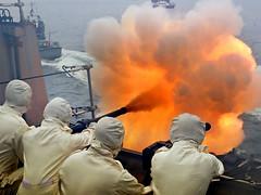 NN160015 (Royal Navy Media Archive) Tags: boj jutland100 scotland 100thanniversary commemoration mediaoperations surfaceship type23frigate uk kent 21gunsalute portsmouth hampshire