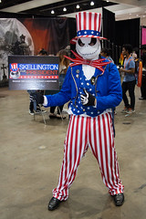 American Jack Skeleton (EriTesPhoto) Tags: cosplay nightmarebeforechristmas ax2016 animeexpo2016