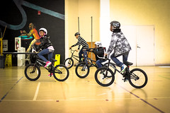 IMG_5628edit (Philadelphia Parks and Recreation) Tags: santa family winter holiday kids event giveaway adults westphilly pinkbike district8 pumptrack carouselhouse sharetheride