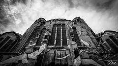 Église Sacré Coeur, Liège (MHPhotography91) Tags: bridge sunset sky church clouds canon reflections landscape crazy memorial long exposure angle belgium outdoor wide 1740mm liège lanaye mhphotography