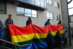 "PCA Students make Pride Flag for Plymouth vigil • <a style=""font-size:0.8em;"" href=""http://www.flickr.com/photos/66700933@N06/27652466002/"" target=""_blank"">View on Flickr</a>"