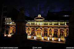 Casino Espaol (DGNacho.com) Tags: city travel vacation holiday building mxico architecture night wow dark de mexico noche nocturnal centro ciudad casino adventure emotional espaol historico cdmx