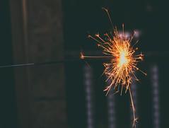 burst (morgan.tansy) Tags: sparkle sparklers night burst fire orange sony