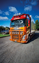 mikaelnilsson-volvofh4-highway-topbar_9641 (truxab) Tags: red orange highway naranja rd trux topbar lacquered a162 g164 mikaelnilsson lackerad volvofh4globxl truxab
